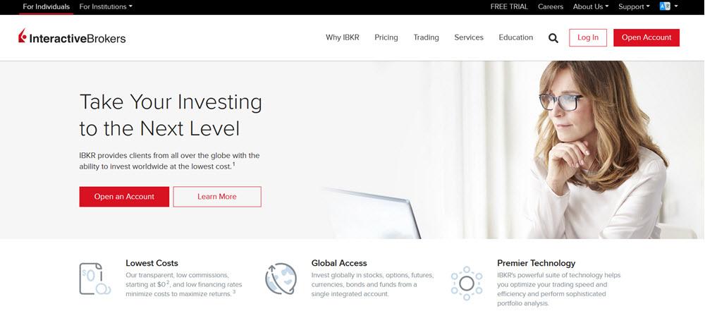 Interactive brokers.